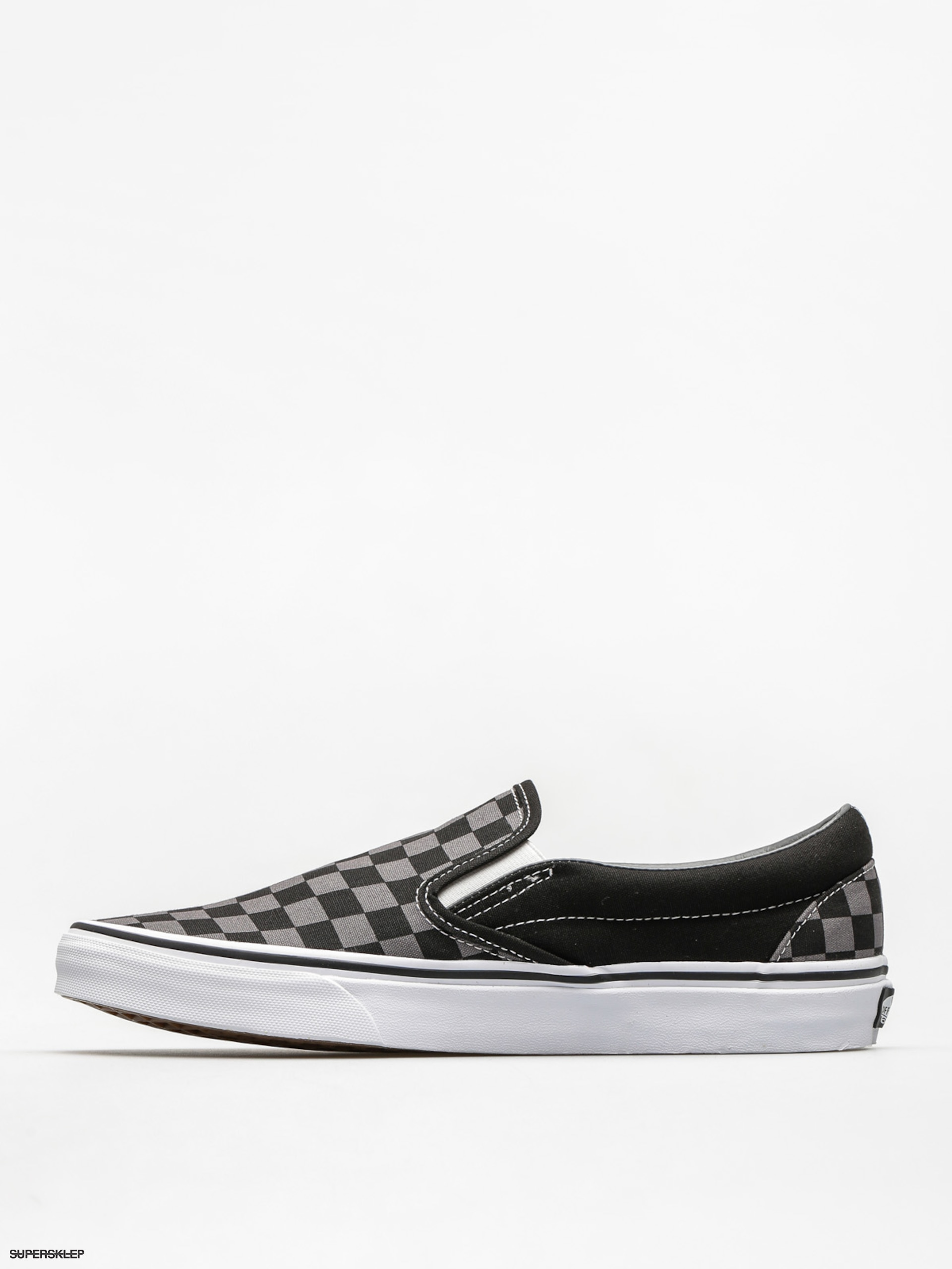 Topánky Vans Classic Slip On (black pewter checkerboard) a7832900693
