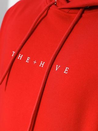 Mikina s kapucňou The Hive Hive HD (red)