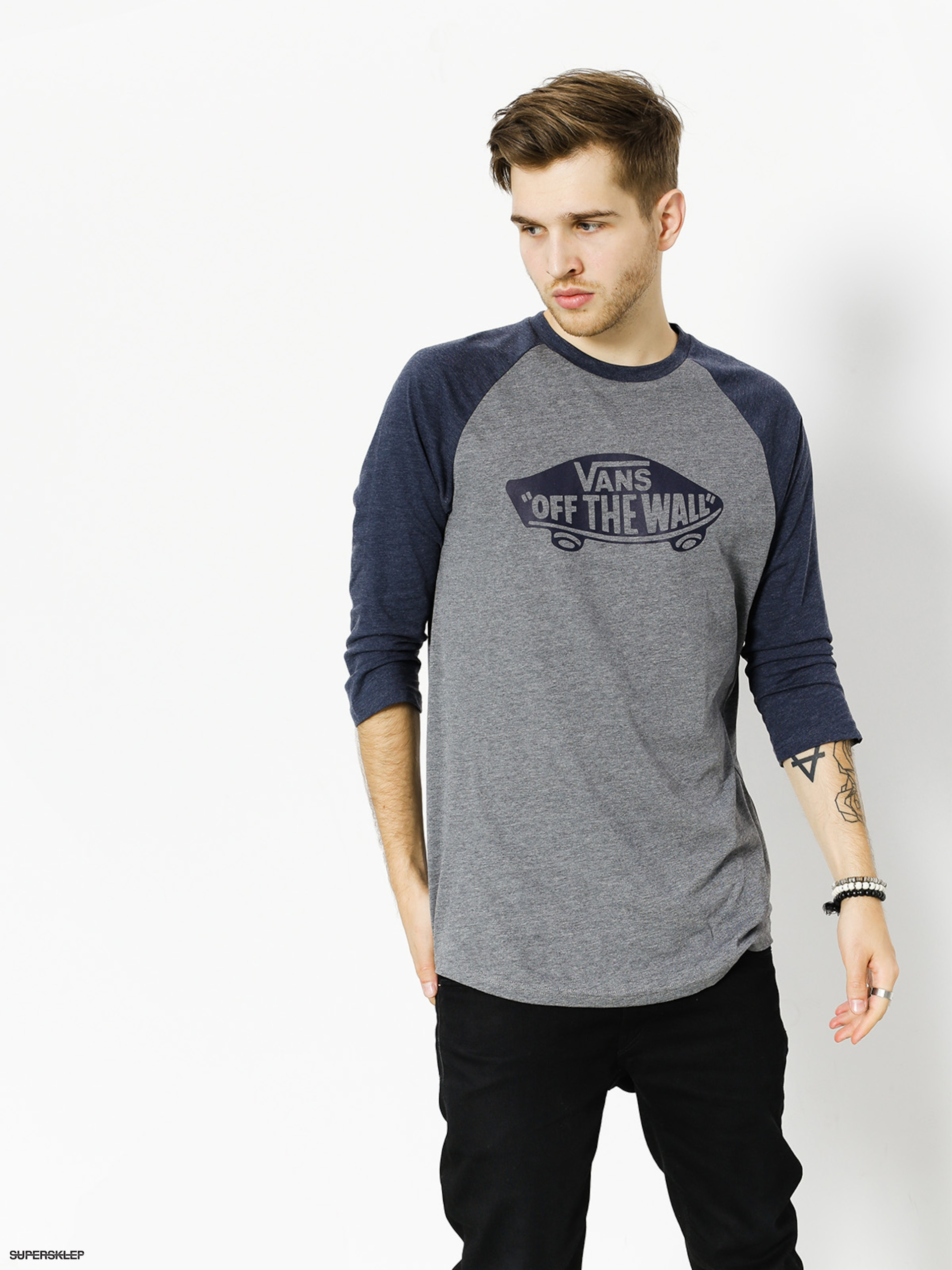 Triko Vans Otw Raglan (heather/grey)