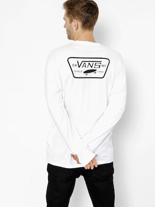Triko Vans Full Patch Back (white/black)