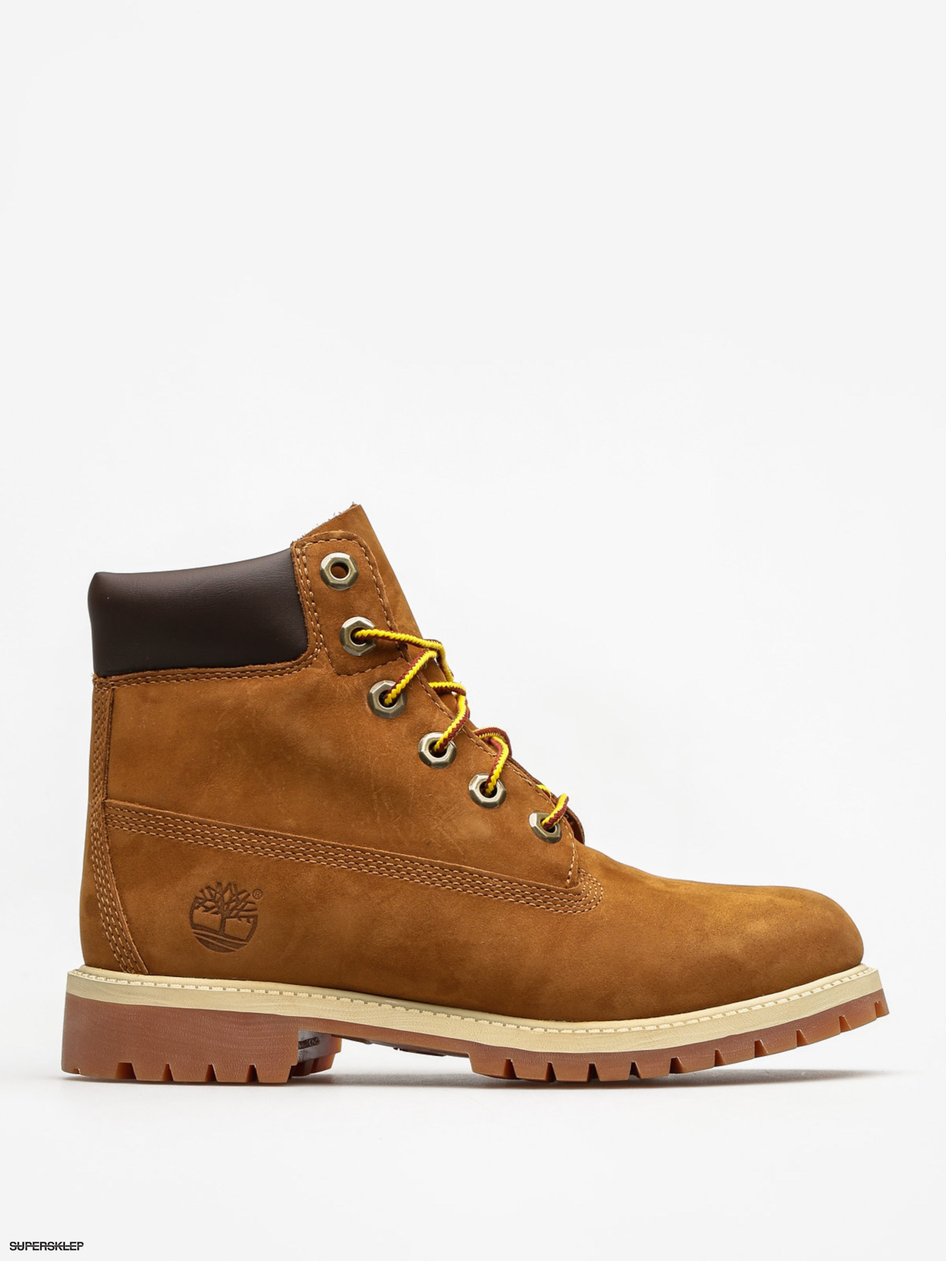 2cc40a844639e Detské topánky Timberland 6 In Premium Wp (rust nubuck)