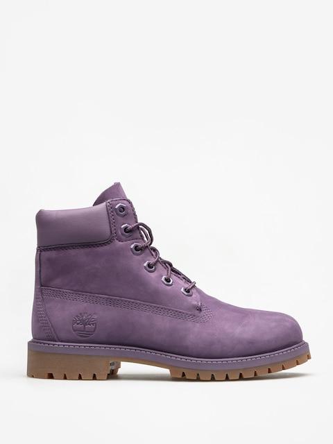 Detské topánky Timberland 6 In Premium Wp (medium purple nubuck)
