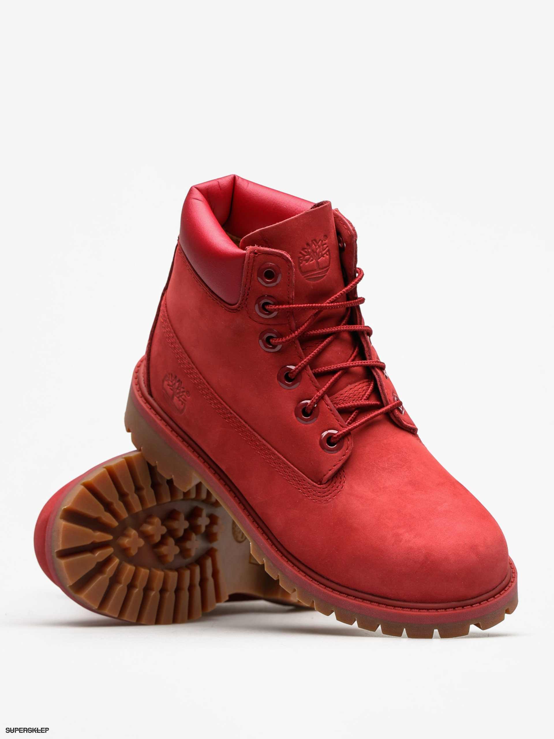 05a0bded36ad Detské zimné topánky Timberland 6 In Premium WP (red)