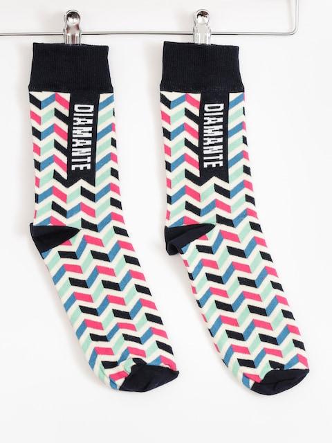 Ponožky Diamante Wear Waves (navy/creme)