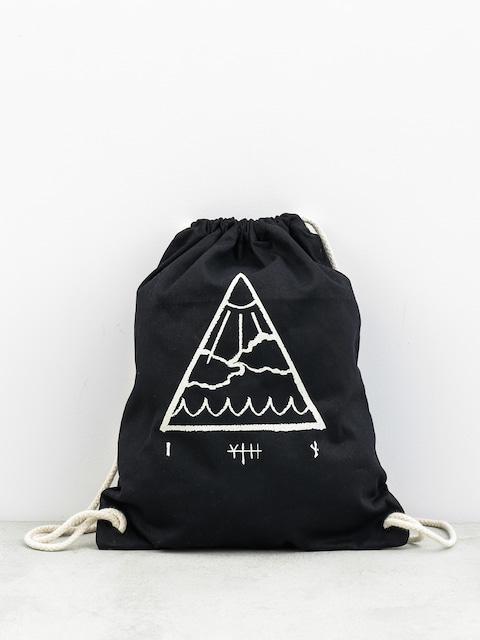 Batoh Youth Skateboards Triangle Premium (black)