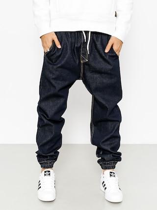 Nohavice MassDnm Signature Joggers Jeans (rinse)