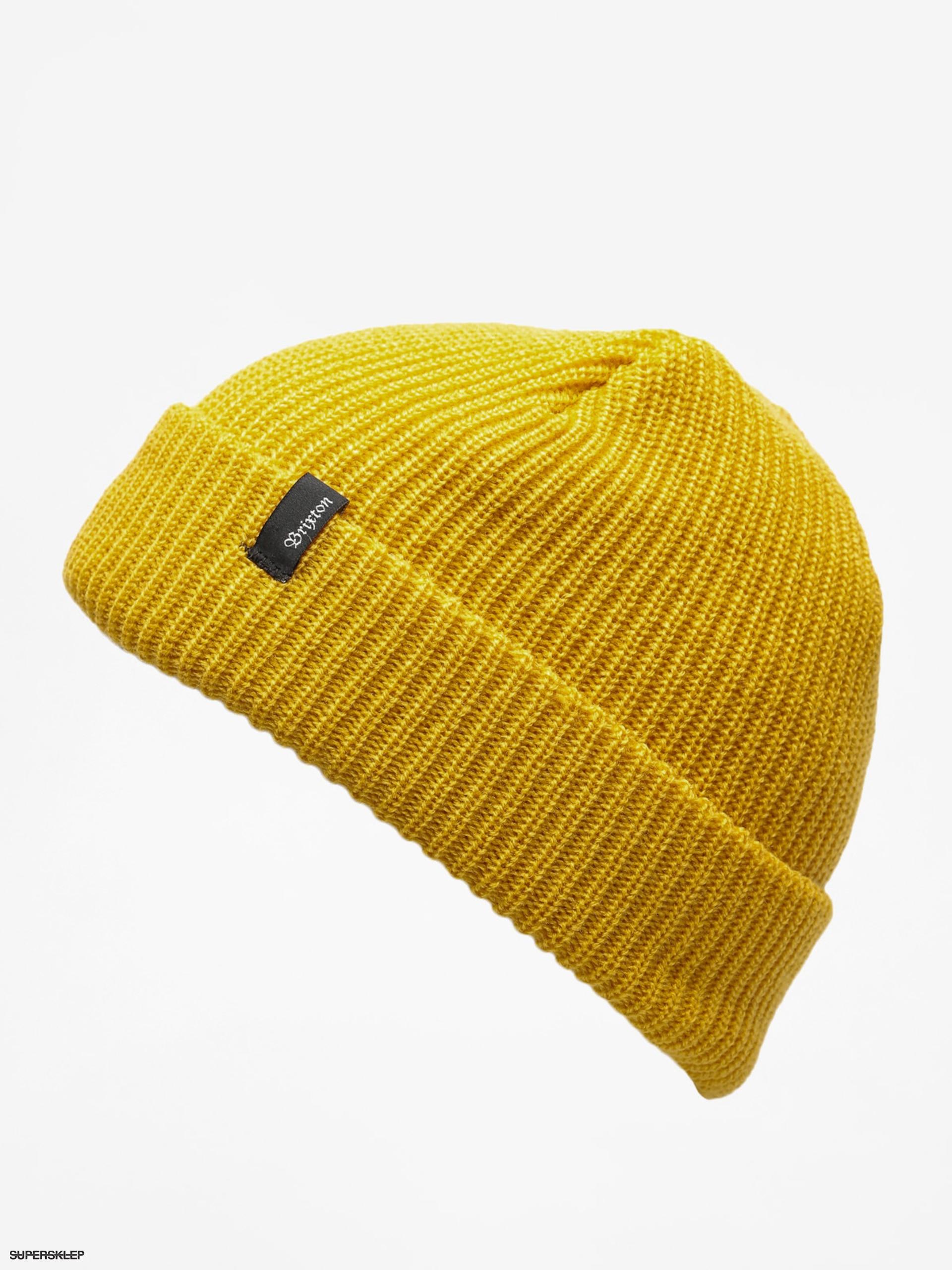 83759ab98 Čiapka Brixton Heist Beanie (mustard)