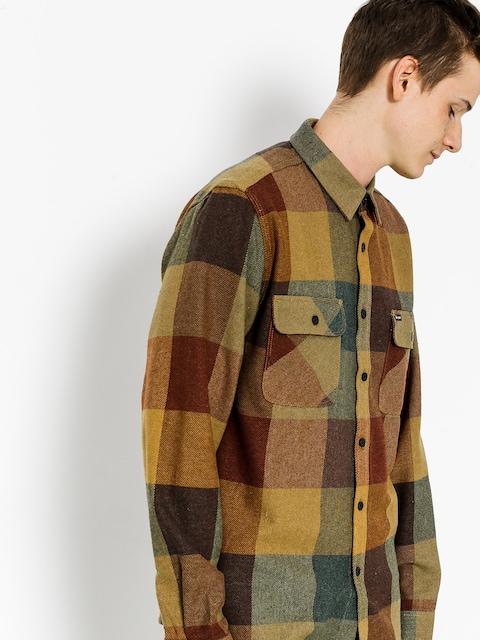 Košeľa Brixton Bowery Flannel Ls (rust/copper)