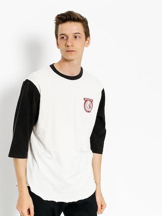 Tričko Brixton Native Wshd 3I4 (off white/black)