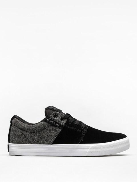Topánky Supra Stacks II Vulc (black white/black)
