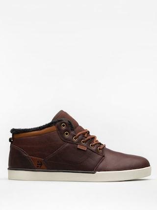 Topánky Etnies Jefferson Mid (brown/white)