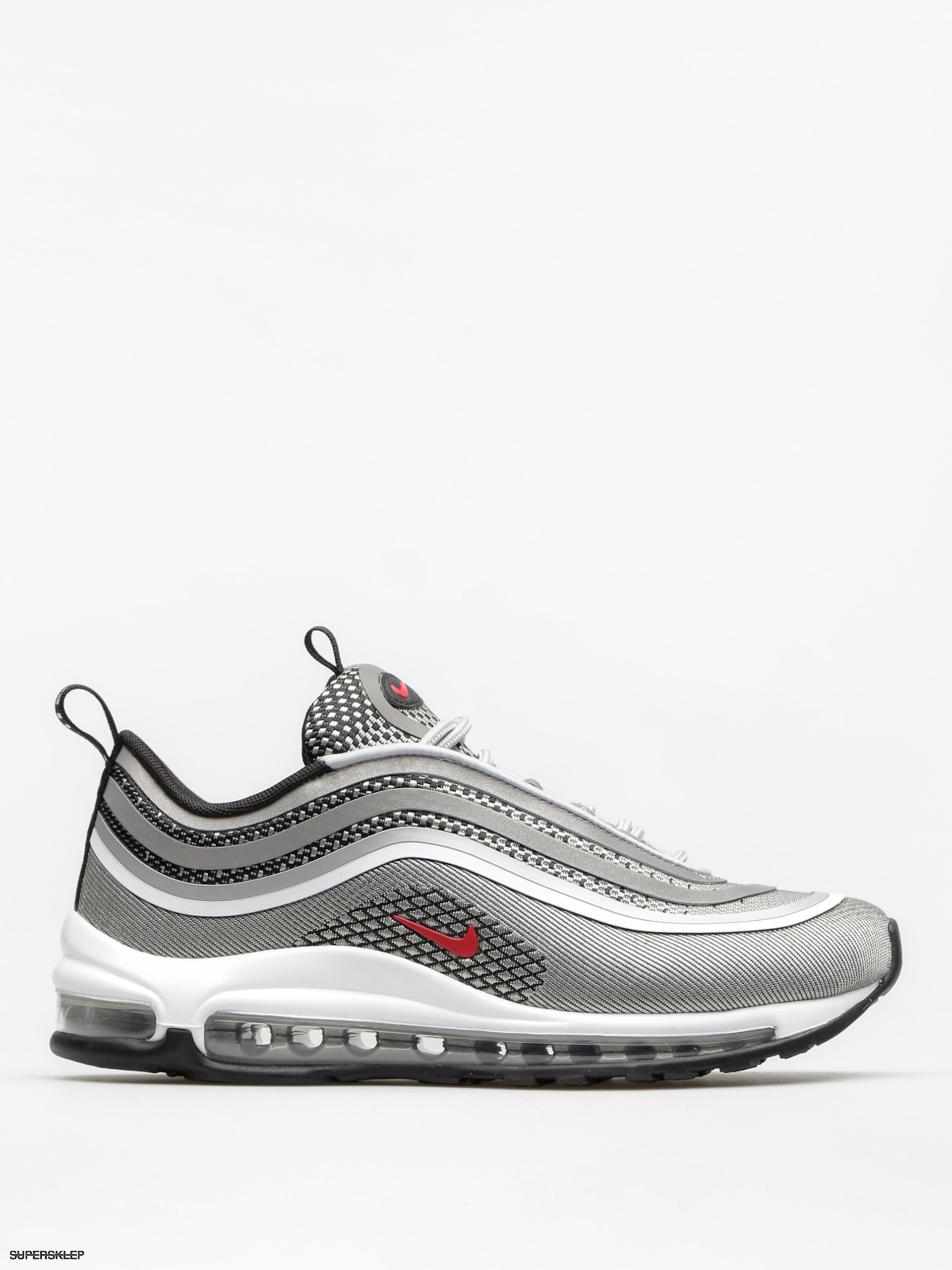 Topánky Nike Air Max 97 Ultra 17 Wmn (metallic silver/varsity red black white