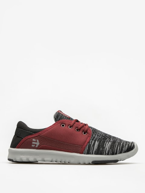 Topánky Etnies Scout YB (black/grey/red)