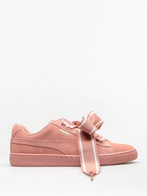 Topánky Puma Suede Heart Satin II Wn S Wmn (cameo brown/cameo brown)