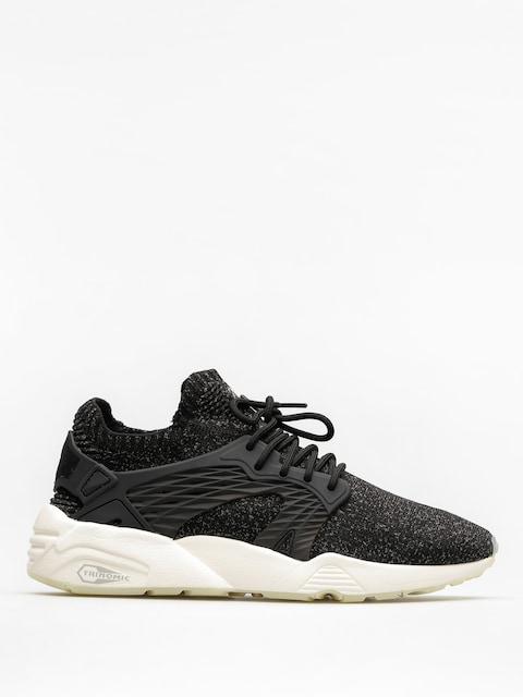 Topánky Puma Blaze Cage Evo Knit (puma black/steel gray/whisper white)