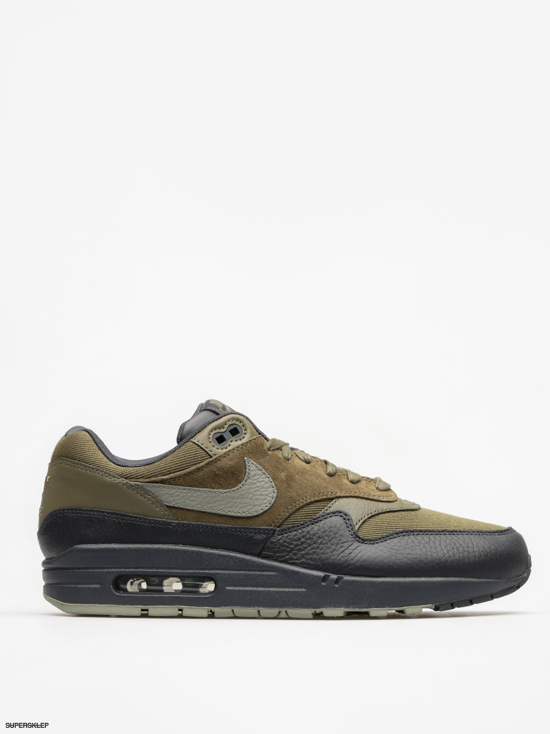 Topánky Nike Air Max 1 (Premium medium olive/dark stucco anthracite)