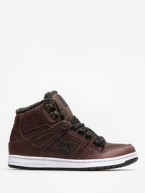 Zimné topánky DC Rebound High Wnt Wmn (brown/chocolate)