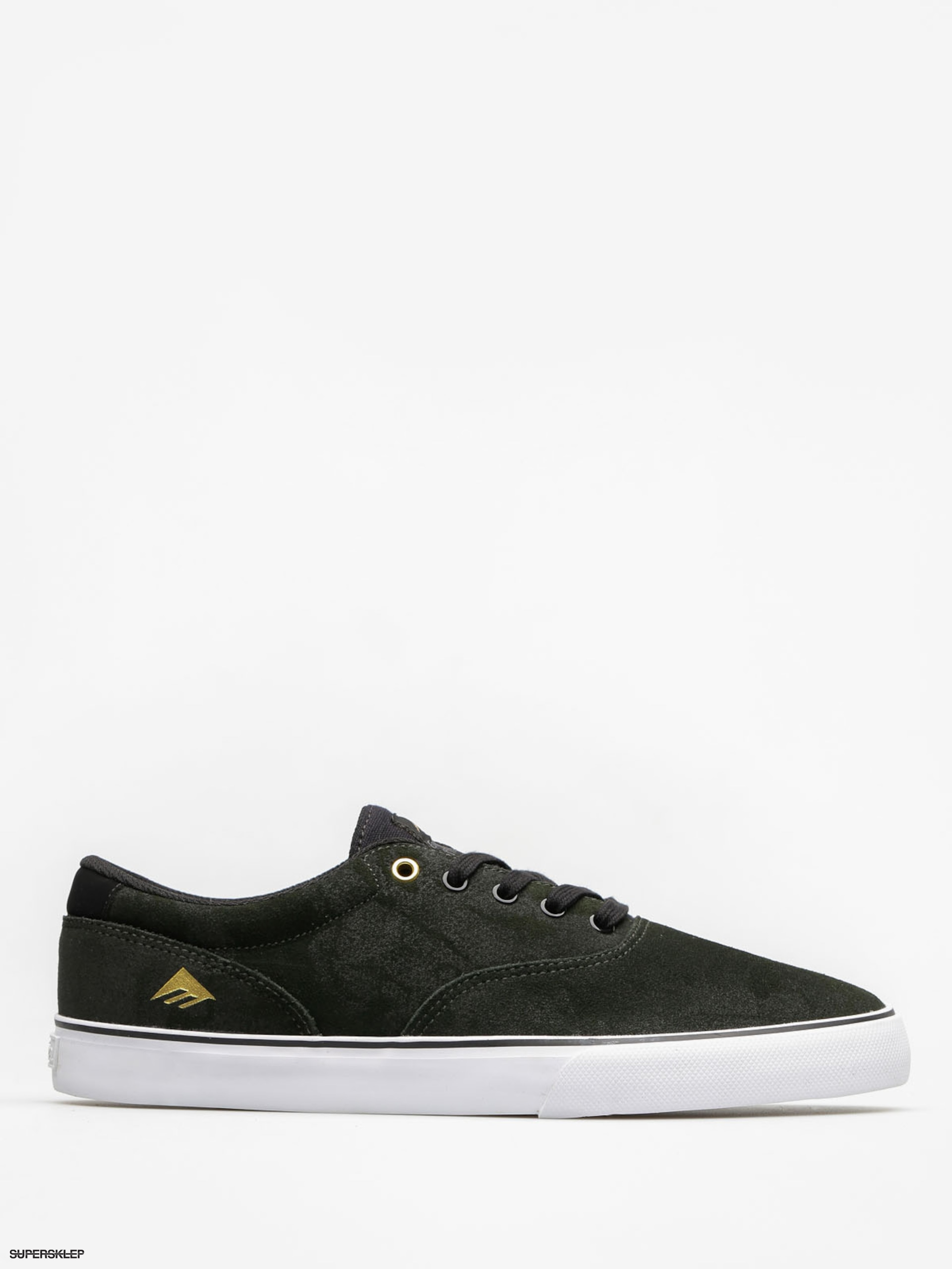 Mikina Emerica Provost Slim Vulc (green/black/white)