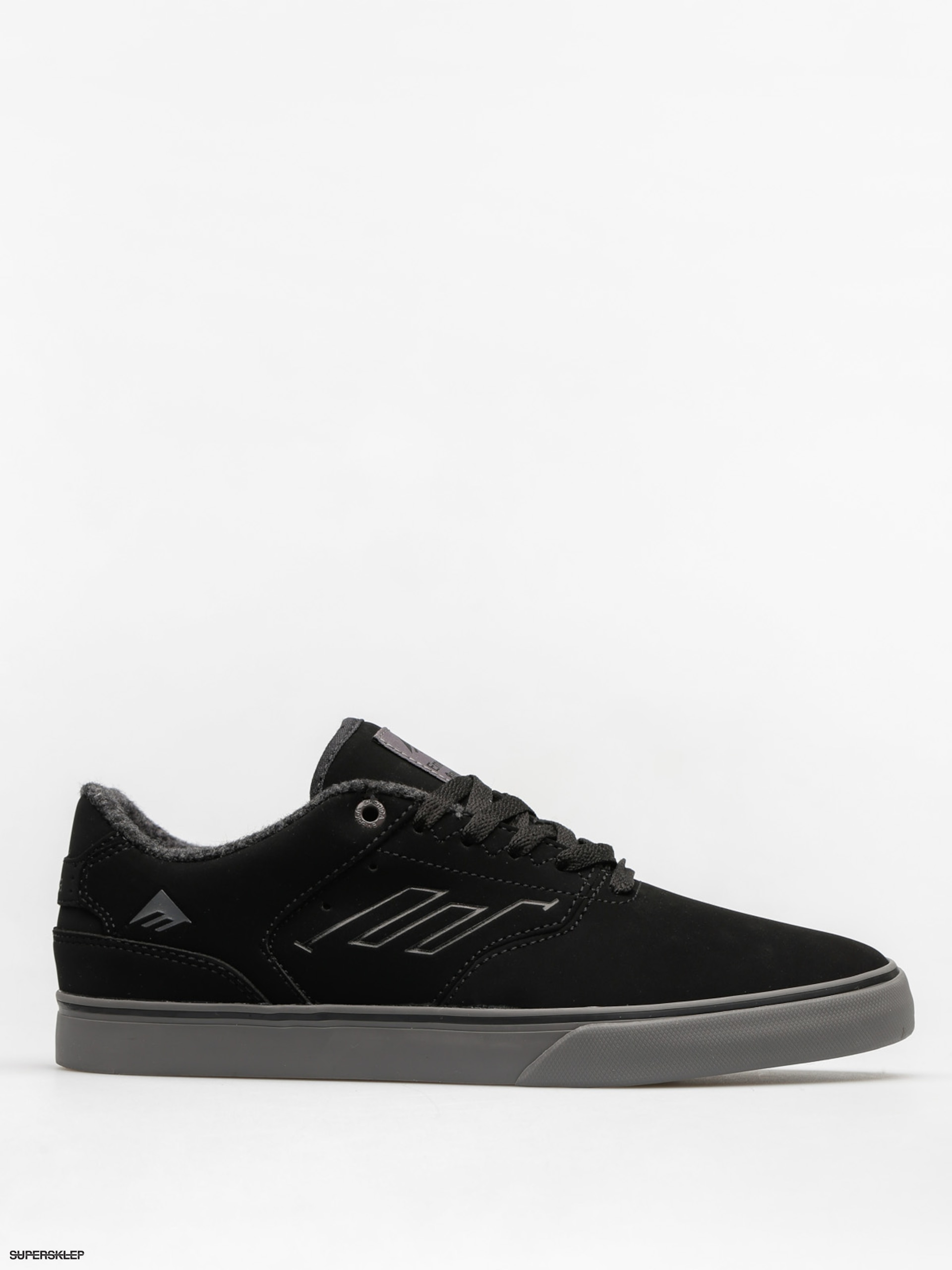 Topánky Emerica The Reynolds Low Vulc (black/grey)
