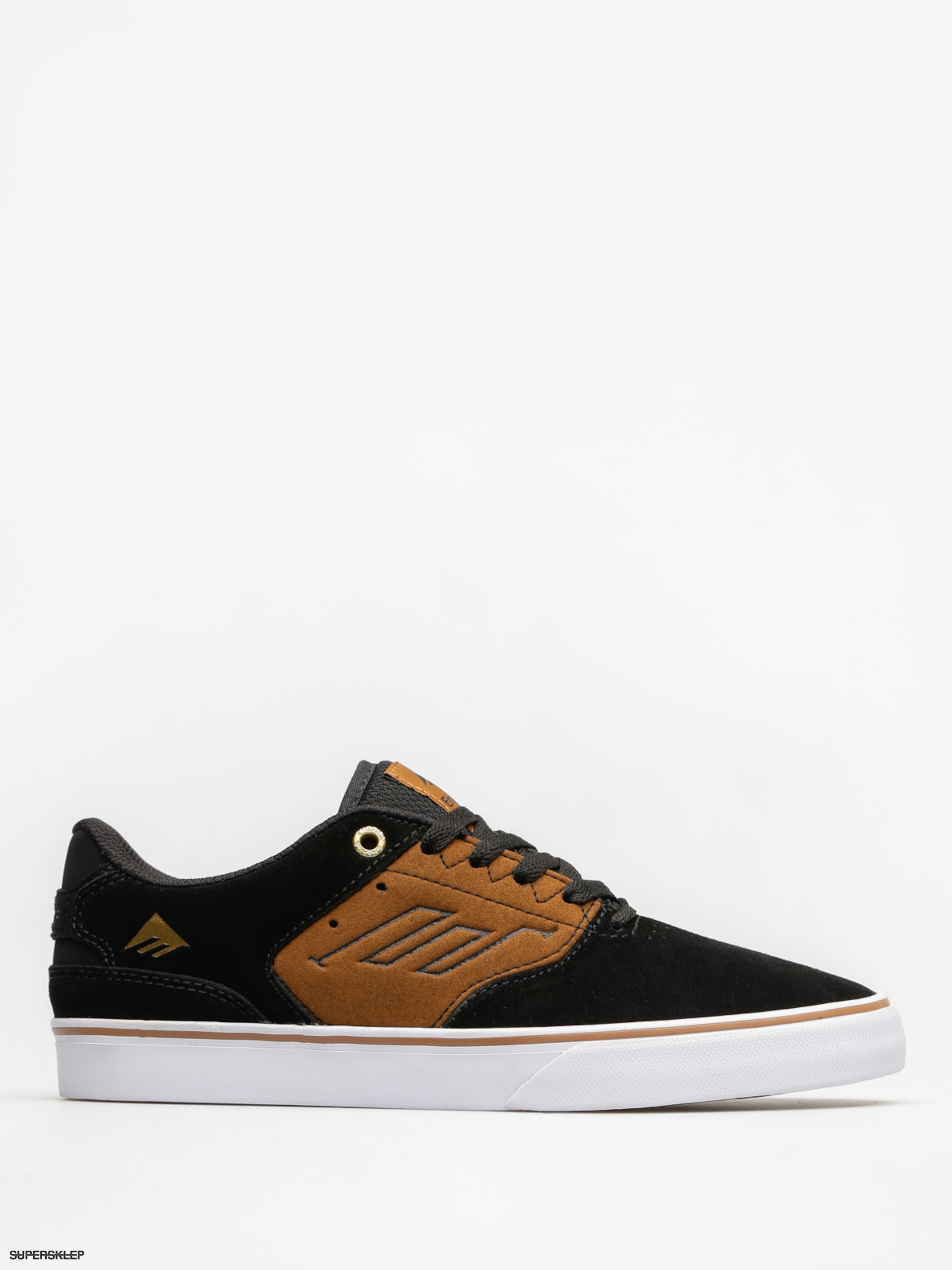 Topánky Emerica The Reynolds Low Vulc (black/tan)