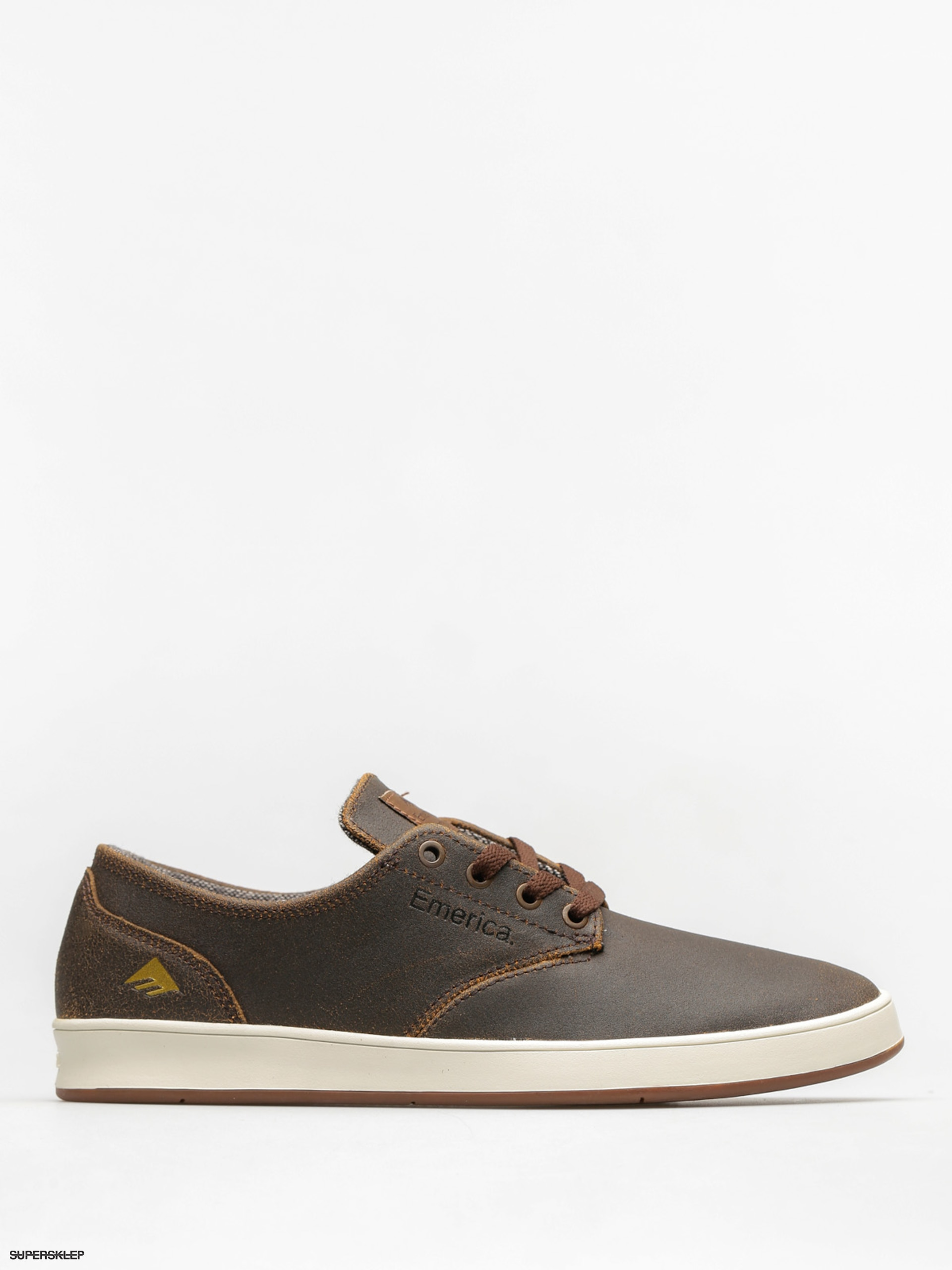 Topánky Emerica The Romero Laced (brown/gum/gold)