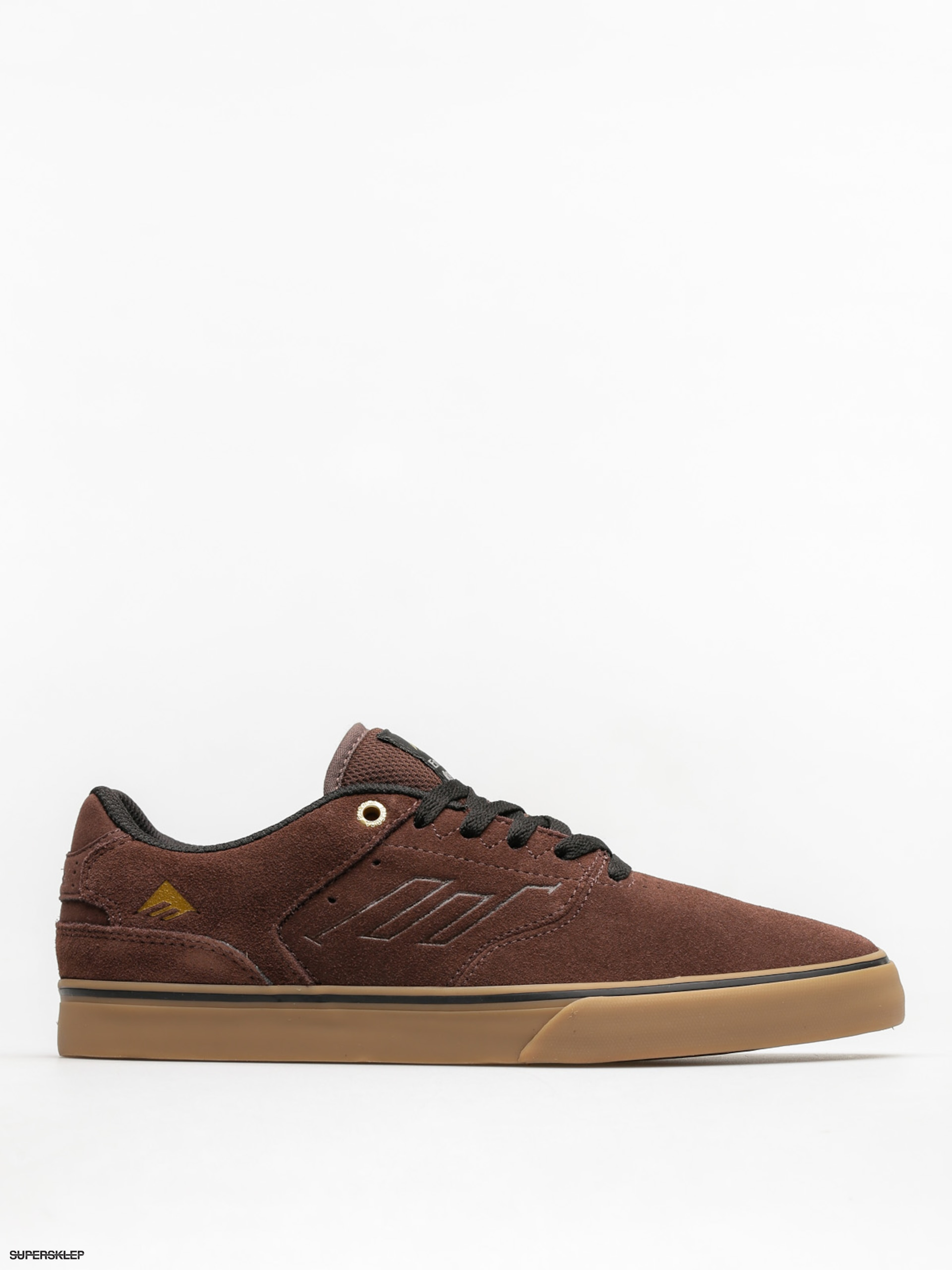 Topánky Emerica The Reynolds Low Vulc (brown/gum/gold)