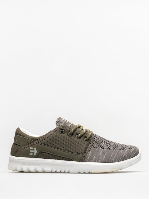 Topánky Etnies Scout Yb Wmn (olive/white)