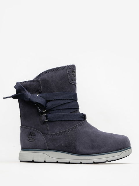 Topánky Timberland Leighland Pull On Wp Wmn (navy suede)