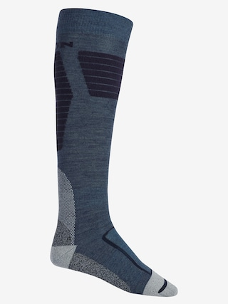 Ponožky Burton Ultralight Wool (mood indigo heather)