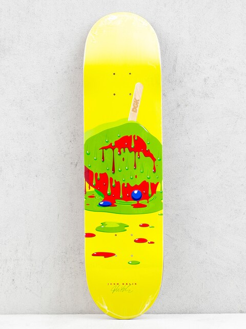 Doska DGK Melted Josh Kalis (yellow)