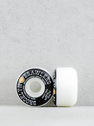 Kolieska Mob Skateboards Brooklyn Brawler (white/black/orange)