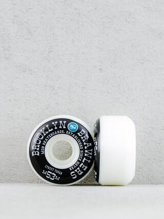 Kolieska Mob Skateboards Brooklyn Brawler (white/black/blue)