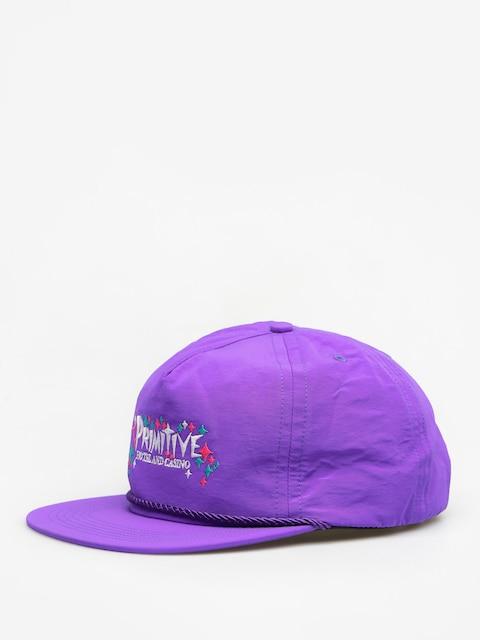 Šiltovka Primitive Casino ZD (purple)