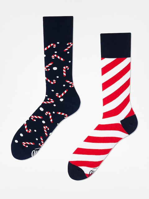 Ponožky Many Mornings Sweet X Mass (navy/white/red)