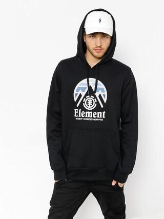 Mikina s kapucňou Element Tri Tip HD (flint black)