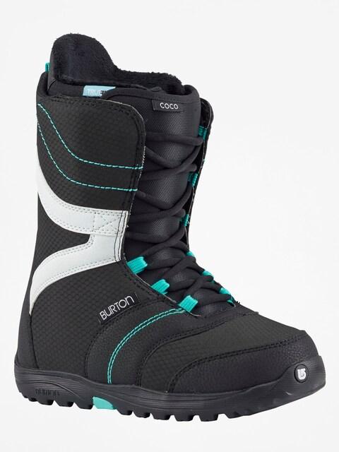 Obuv na snowboard Burton Coco Wmn (black/teal)