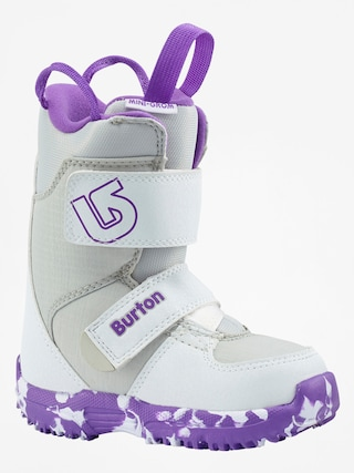 Obuv na snowboard Burton Mini Grom (white/purple)