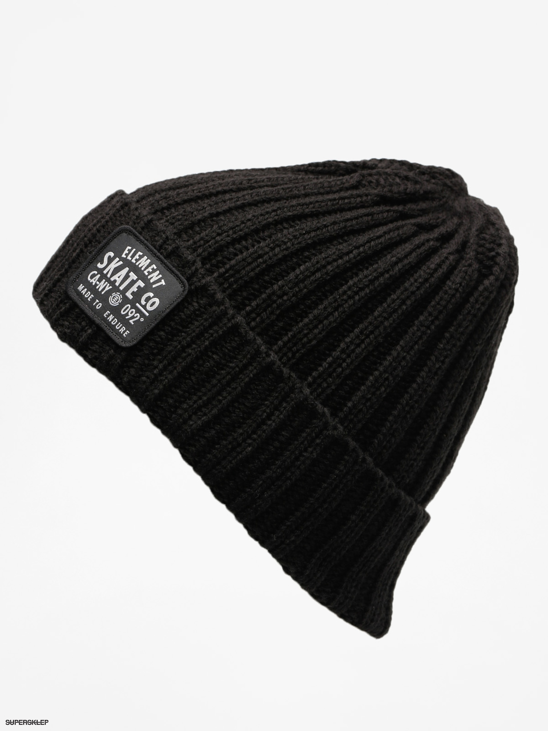 Čiapka Element Counter Beanie (flint black)