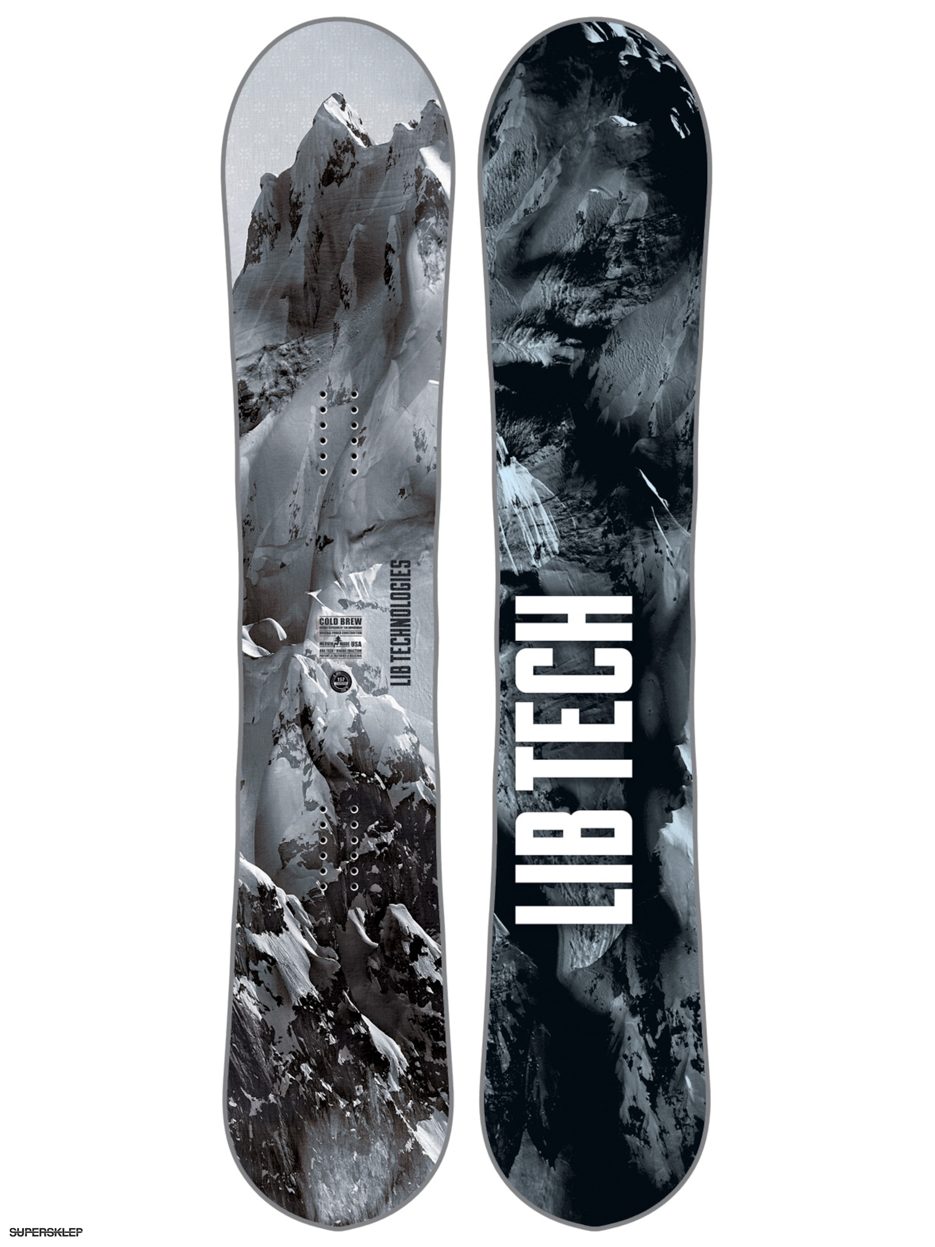 Snowboard Lib Tech Cold Brew C2