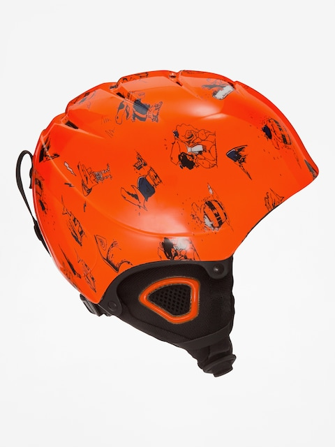 Prilba Quiksilver The Game B (shockin orange)