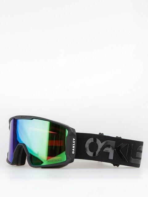 Okuliare na snowboard Oakley Line Miner (factory pilot blackout/prizm jade iridium)