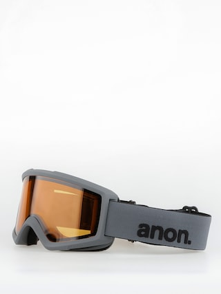 Okuliare na snowboard Anon Helix 2.0 Non Mir (stealth/amber)