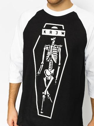 Tričko Kr3w Skeleton Kr3W (black/white)