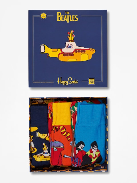 Ponožky Happy Socks The Beatles (ep collectors box 3 pack)