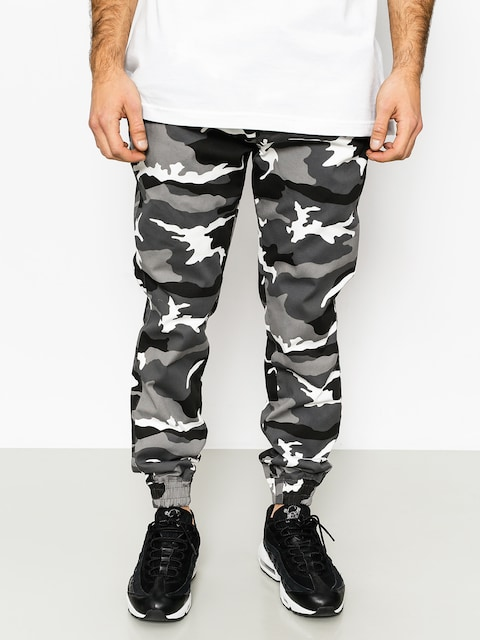 Nohavice Diamante Wear Rm Classic Jogger (black/white/camo)