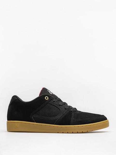 Topánky Es Accel Slim (black/gum)