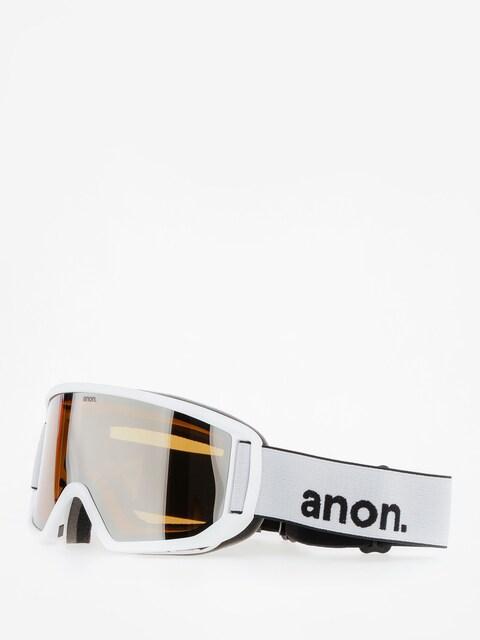 Okuliare na snowboard Anon Relapse (white/silver amber)