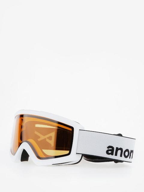 Okuliare na snowboard Anon Helix 2.0 Non Mir (white/amber)