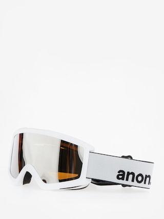 Okuliare na snowboard Anon Helix 2.0 W/Spare (white/silver amber)