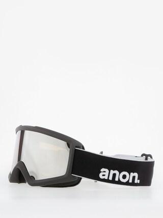 Okuliare na snowboard Anon Helix 2.0 W/Spare (black/silver amber)